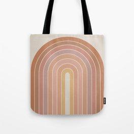 Gradient Arch - Natural Tones Tote Bag