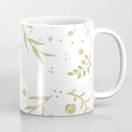 Golden Nature Scene Coffee Mug