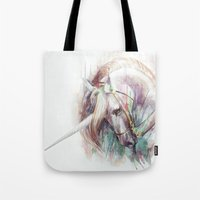 unicorn Tote Bags featuring Unicorn by beart24