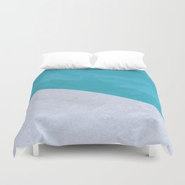 Poolside Playdate Duvet Cover