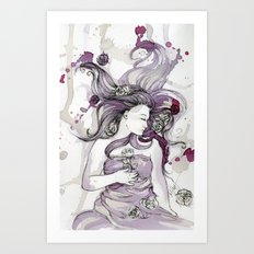 Briar Rose Art Print