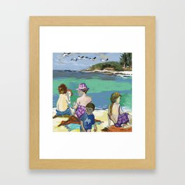 Esmeralda & Brood (Saw Sea Art Series) Framed Art Print