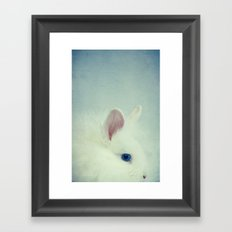 Blue Eyes II Framed Art Print