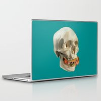 taco Laptop & iPad Skins featuring Death By Taco by Fontolia (Katie Blaker)