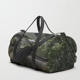 Dashed Board Duffle Bag
