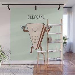 beefcake Wall Mural