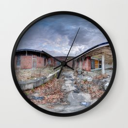 Abandoned Asylum Wall Clock