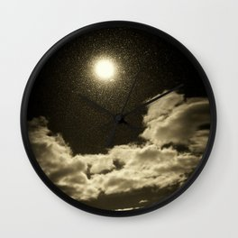 Signs in the Sky Collection - I Wall Clock