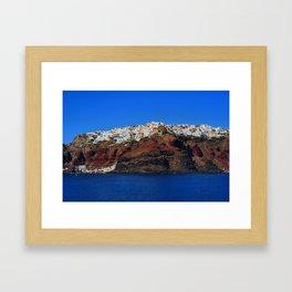 Santorini 22 Framed Art Print