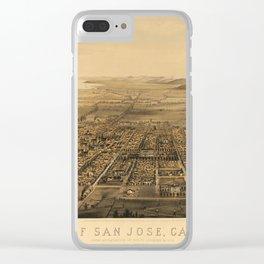 San Jose 1875 Clear iPhone Case