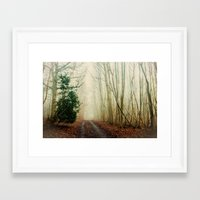 ghost Framed Art Prints featuring GHOST PATH by Catspaws