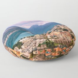 Kotor, Montenegro Floor Pillow