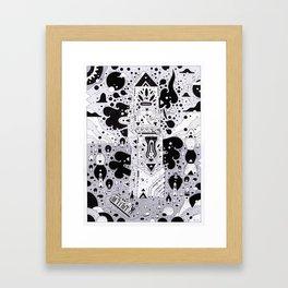 m o n o l i t h Framed Art Print