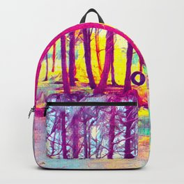 Let's Take Our Hearts For A Walk In The Woods and Listen to the Magic Whispers of Old Trees... Backpack