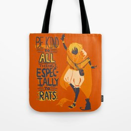 Ozymandias, King of Rats - Be Kind Tote Bag
