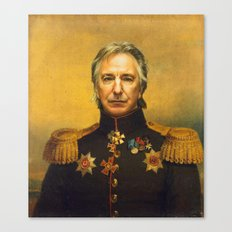 Alan Rickman - replaceface Canvas Print