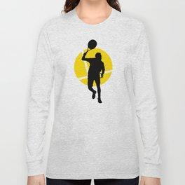 TENNIS Forehand Lines Long Sleeve T-shirt
