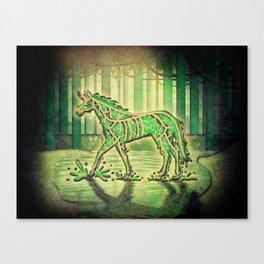 Swamp Unicorn Canvas Print