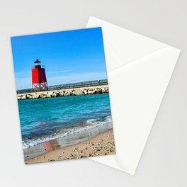"""Charlevoix Lighthouse"" Stationery Cards"