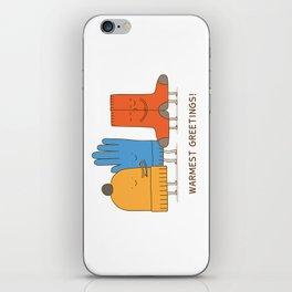 warmest greetings! iPhone Skin