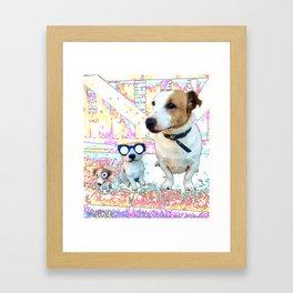 Jack 1 Jack 2 Jack 3 Framed Art Print