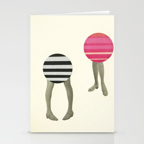 Dancing Feet Stationery Cards