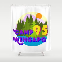 Camp Wingapo Shower Curtain