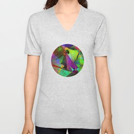 Dragonflies 2 - color variation Unisex V-Neck