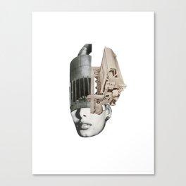 Visage Canvas Print