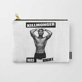 Killmonger Was Right Carry-All Pouch
