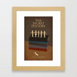 The Secret History  Framed Art Print