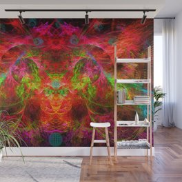 The Flying Shaman Wall Mural