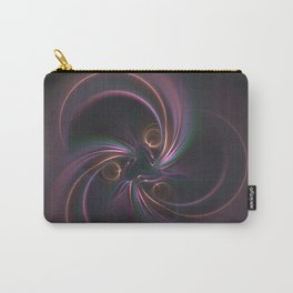 Moons Fractal in Warm Tones Carry-All Pouch