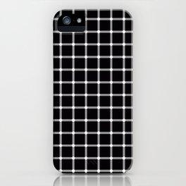 Black and White Optical Illusion iPhone Case