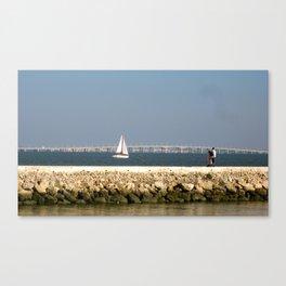 Maritime Stroll Canvas Print
