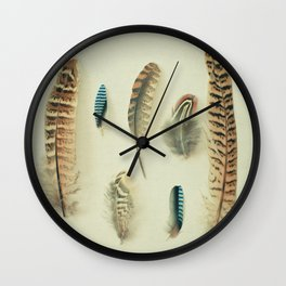 The Feather Collection Wall Clock