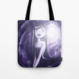 Purple Monochrome Tote Bag