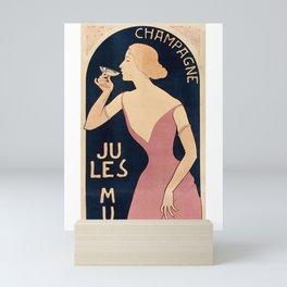 Champagne JULES MUMM - 1895 Mini Art Print
