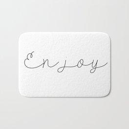 Enjoy Bath Mat