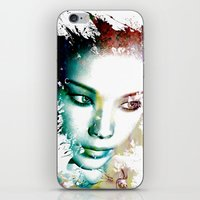 asia iPhone & iPod Skins featuring Asia by J. Ekstrom