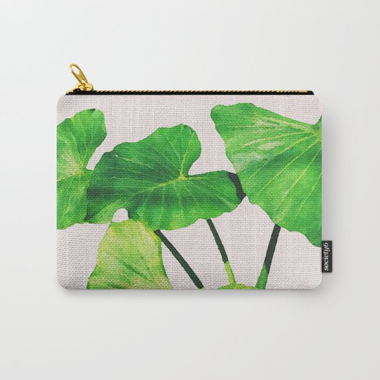 Taro Dimensionality #society6 #decor #buyart Carry-All Pouch