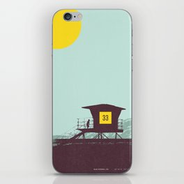 Locals Only - San Diego iPhone Skin