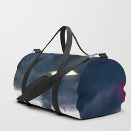 Office Lights in the sky Duffle Bag