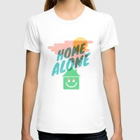home alone T-shirts featuring Home Alone by Nick Nelson