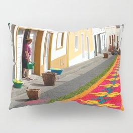 Making flower carpets Pillow Sham