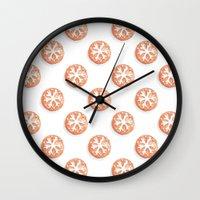 cookies Wall Clocks featuring Cookies! by nekoconeko