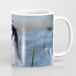 Heron with a broken wing Coffee Mug