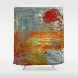 The Shores of Nile Shower Curtain