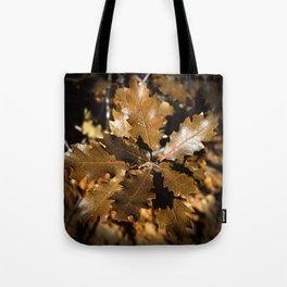 Oak Leaves Tote Bag