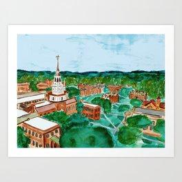 Dartmouth College Art Print